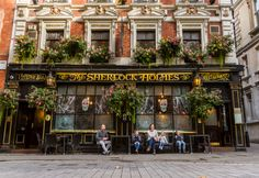 en-omgb:  A drink at The Sherlock HolmesLondon It's no mystery why people love this traditional English pub, with its ornate surroundings and portraits of Britain's best-loved detective. Photo by Colin Roberts - More info