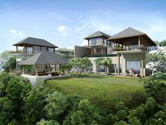 Sohamsa Ocean Estate | 9 bedroom with 4 and 5 bedroom rent option | Uluwatu, Bali #balidestination #holidaydestination #luxury #home