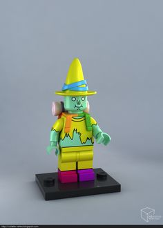 ArtStation - LEGO Magic Man minifig, Volatile Vertex