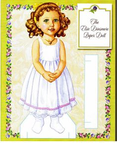 Elsie Paper Doll Collection.This From isanere1 - MaryAnn - Picasa Webalbum