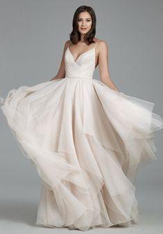 Courtesy of Tara Keely Wedding Dresses from JLM Couture; Wedding dress idea.