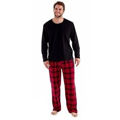 SaneShoppe Mens Gift Pack Pyjamas Fleece Top Check Flannel Pants Red/Black -M Winter pyjama set for men. This warm and cosy set features a fleece top and checked cotton trousers, both made with soft and warm materials making them the perfect nightw (Barcode EAN = 5031367585720) http://www.comparestoreprices.co.uk/december-2016-5/saneshoppe-mens-gift-pack-pyjamas-fleece-top-check-flannel-pants-red-black-m.asp