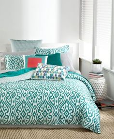 CLOSEOUT! Bar III Tali Bedding Collection - Bedding Collections - Bed & Bath - Macy's