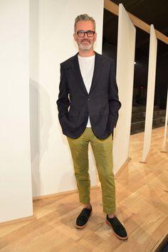 Frank Muytjens olive trousers