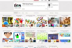 TES Early Years Pinterest - Resources, teaching ideas and support for anyone working with under 5s. Join in!