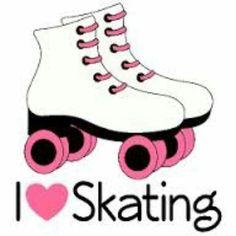 pin by jaime schwab on skating party pinterest roller skating rh pinterest com roller skates clipart roller skate clipart