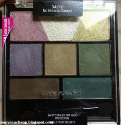 Wet n Wild holiday 2013 In The Spotlight Coloricon eyeshadow palette in No Neutral Ground