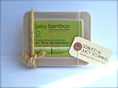 Crèmes Etcetera loves KAIA bamboo facial cleansing cloths - 100% biodegradable