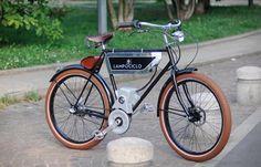 Lampociclo: prachtige elektrische retro-fiets van Italiaanse makelij