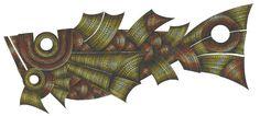 Peixe XVI (1999)  Nanquim e ecoline sobre papel