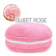 Macaron Kawaii Plushie Plush Pillow  CUTE  Sweet by ObsessedHeart, $29.95 #kawaii #cute