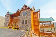 Smokin\' View Lodge - 10 Bedroom Gatlinburg Rental | Pinterest ...