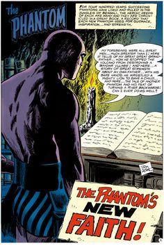 The Phantom No. 38 by Jim Aparo, Jun 1970, Charlton Comics