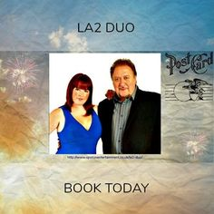LA2 Duo. A highly versatile duo providing light guitar instrumental for low key weddings / functions or more upbeat sounds for party themes.