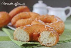 Ricetta per preparare delle sofficissime ciambelle, cottura al forno o fritte.