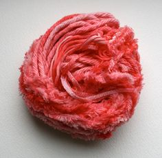 Hand dyed pink mixed threads. £5.99, via Etsy.