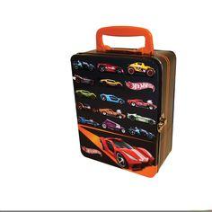 Hot Wheels 18 Car Tin Vintage Toy Box