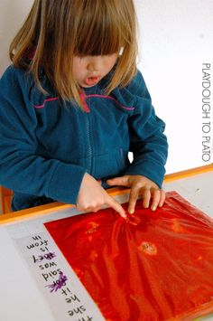 Sight Word Games: Squish and Seek Sight Words - Playdough To Plato