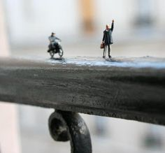 Fotos de figuras miniatura. | Quiero más diseño