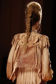 Jean Paul Gaultier SPRING/SUMMER 2013 COUTURE CLOSE UP