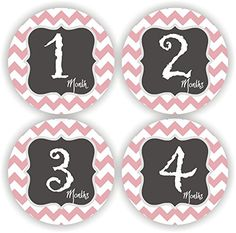 Baby Girl Stickers - Baby Monthly Stickers - Baby Girl Chevron Month Stickers - Baby Shower Gift Philly Art & Crafts LLC http://www.amazon.com/dp/B00SZRG60S/ref=cm_sw_r_pi_dp_SThavb0P08QFK