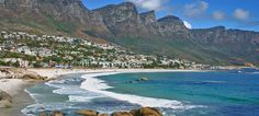 Camps Bay World's Most Beautiful, Beautiful Places, Places Around The World, Around The Worlds, Africa Travel, Camps, Cape Town, Places To Travel, Places Ive Been