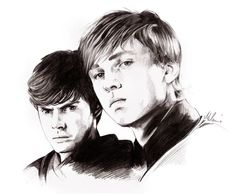 Awesome fan art of the boys