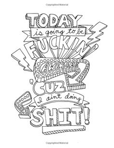 make-life-your-bitch-swear-word-coloring-book-revenge | cuss word ... - Turn Pictures Coloring Pages