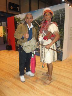Dos cholos peruanos.