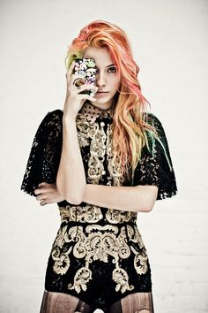 Chloe Norgaard is a Misfit for Metal Magazine #28