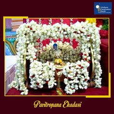 By observing fast on this Ekadashi the devotee is released from the reactions to all his previous sins & evil deeds.