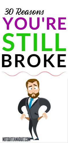 You don't make enough money, you can't get a promotion, you have debt. These are all reasons you're broke but may not be the actual root cause. It all stems down to our day to day behaviours and the things we do that can keep us in financial ruins and it's important to focus our energy on changing these behaviours and getting rid of bad money habits. We Energies, Get Out Of Debt, Financial Success, Credit Score, Make More Money, To Focus, Money Saving Tips, Stems, Personal Finance