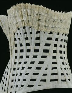 Summer Corset 1890-1900 The Victoria & Albert Museum