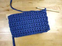 Teje una caja u organizador - Paperblog Crotchet, Crochet Top, Crochet Hats, Cotton Cord, Baby Items, Projects To Try, Basket, Mini, Cute