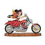fairy riders motorcycle   Jasmine Becket-Griffith Fairy Riders Fantasy Art Motorcycle Figurine ...