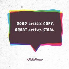 Good Artist ... - fully editable poster