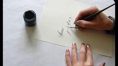 How I use an Oblique Pen Holder