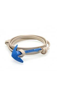 Leather Bracelet Gray