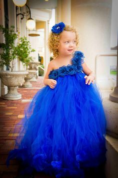 My baby girl, modeling a beautiful flower girl tutu dress ♥