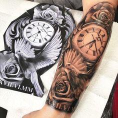 63 New Ideas Tattoo Sleeve Clock Beautiful - 63 New Ideas Tattoo Sleeve Clock . - 63 New Ideas Tattoo Sleeve Clock Beautiful – 63 New Ideas Tattoo Sleeve Clock Beautiful -