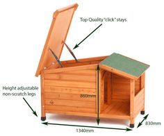 Dog house ...I would have to adjust the size to fit Maxx especially the porch