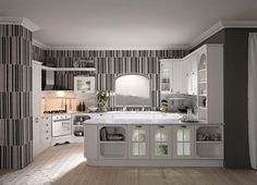 Enhance your Kitchen Look with Wallpaper Borders