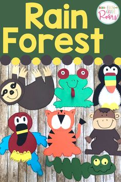 25 Rainforest Animal Crafts For Kids Mom Endeavors Rainforest