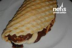Tost Makinesinde Waffle Hamuru Tarifi