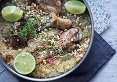Valdemarsro - One pot ris med kylling er en hurtig nem og enkel hverdagsret med virkelig lækker smag