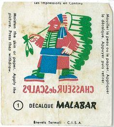 Malabar : série Décalque n°2