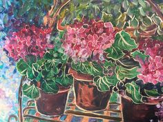 Garden, Artist, Painting, Garten, Lawn And Garden, Artists, Painting Art, Gardens, Paintings