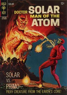 Solar vs. the volcano!
