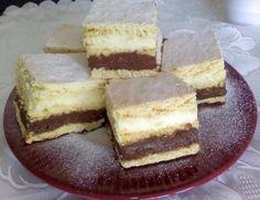 Hókocka kétféle csodás krémmel! A kedvenc téli süteményünk! - Egyszerű Gyors Receptek