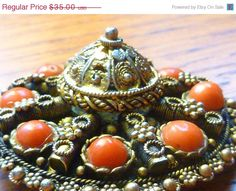 Labor Day Sale Vintage Israel Etruscan by VintagePoetlandia, $29.75